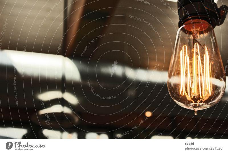 blubb blubb bulb Lampe alt hell Design Glühbirne Glühdraht Licht Farbfoto Gedeckte Farben Innenaufnahme Nahaufnahme Tag Kontrast Lichterscheinung Unschärfe