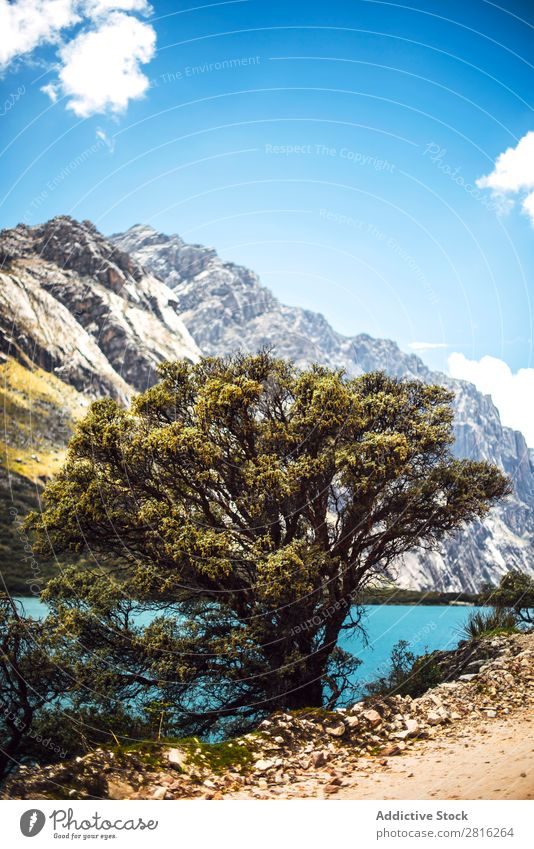 Huaraz, Peru, Huandoy Berg und Paron See Berge u. Gebirge huaraz Kordilleren weiß Peruaner Anden Hintergrundbild wandern Abenteuer Ausflugsziel amerika Wanderer