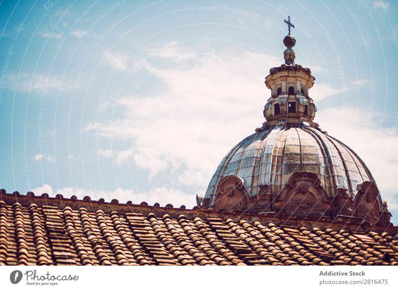 Detail einer Kirche in Rom, Italien Straße Nahaufnahme alt altehrwürdig Detailaufnahme Europäer Außenaufnahme antik Europa Italienisch Ausflugsziel