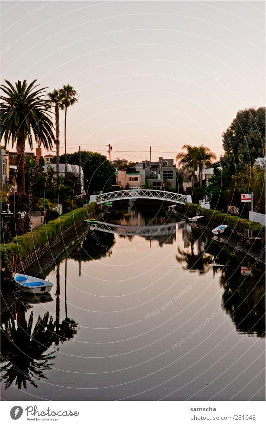 Venice Wasser Ferien & Urlaub & Reisen Stadt schön Sommer Haus Erholung Park Tourismus Ausflug Häusliches Leben ästhetisch Idylle Brücke Romantik genießen