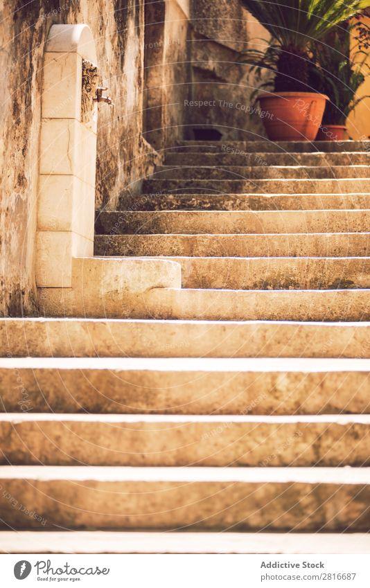 Detailansicht von Ragusa, Sizilien, Italien Dubrovnik Kathedrale Dom Kirche Gebäude Straße Haus Wahrzeichen Großstadt Europa Turm Aussicht Architektur alt Dorf