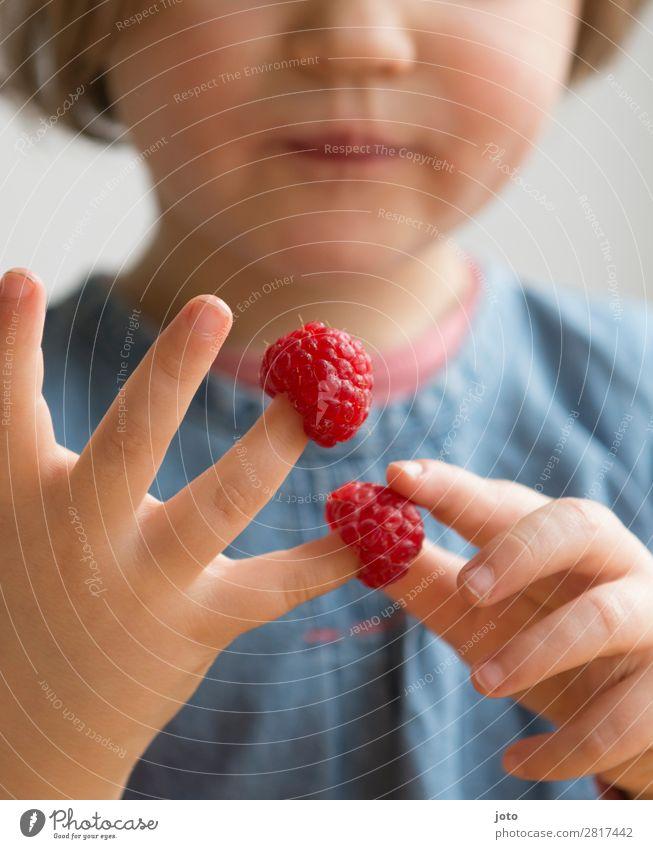 Rechnen leicht gemacht Kind Ferien & Urlaub & Reisen Natur Gesunde Ernährung Sommer rot Hand Speise Lebensmittel Essen Frucht Zufriedenheit süß frisch Kindheit