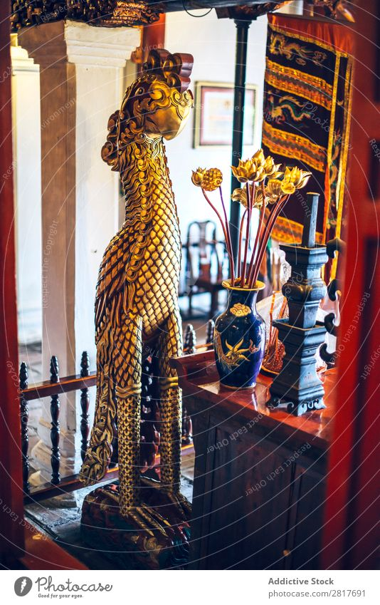 Pagode in Hanoi, Vietnam antik Antiquität Architektur Asien asiatisch Attraktion Buddhismus buddhistisch Gebäude Kathedrale Höhle Kultur Ausflugsziel