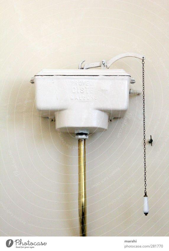 Morgentoilette alt Raum Wohnung Bad Toilette Toilettenspülung kolonial Kolonialstil