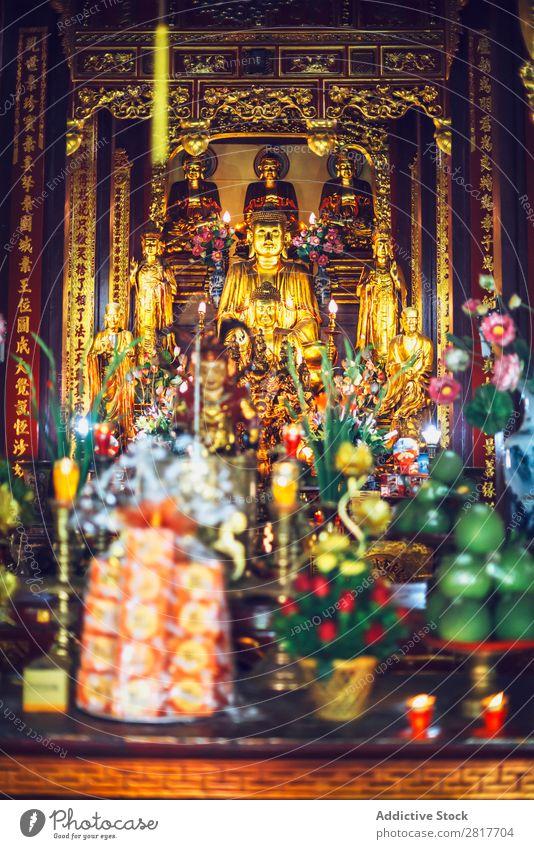 Tempel in Hanoi, Vietnam antik Antiquität Architektur Asien asiatisch Attraktion Buddhismus buddhistisch Gebäude Kathedrale Höhle Kultur Ausflugsziel