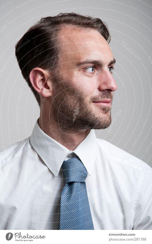 portrait Mensch Jugendliche schön Junger Mann Erwachsene 18-30 Jahre Arbeit & Erwerbstätigkeit Business Erfolg Geldinstitut Student Model Dienstleistungsgewerbe