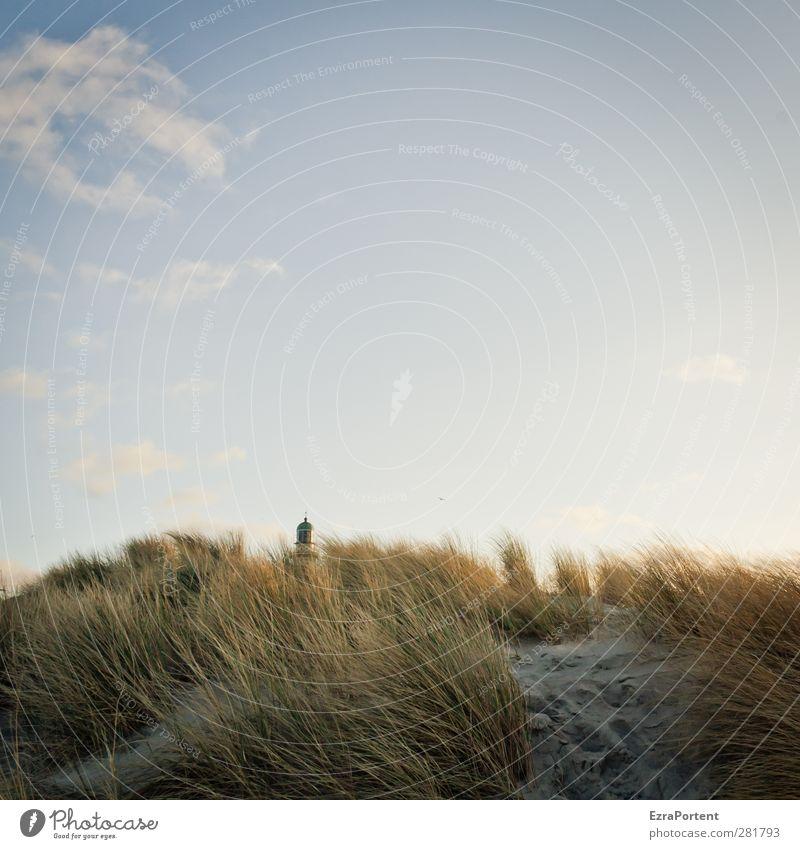 hidden Himmel Natur blau Ferien & Urlaub & Reisen Pflanze Sonne Strand Wolken ruhig Winter Landschaft Erholung gelb Herbst Gras Gebäude