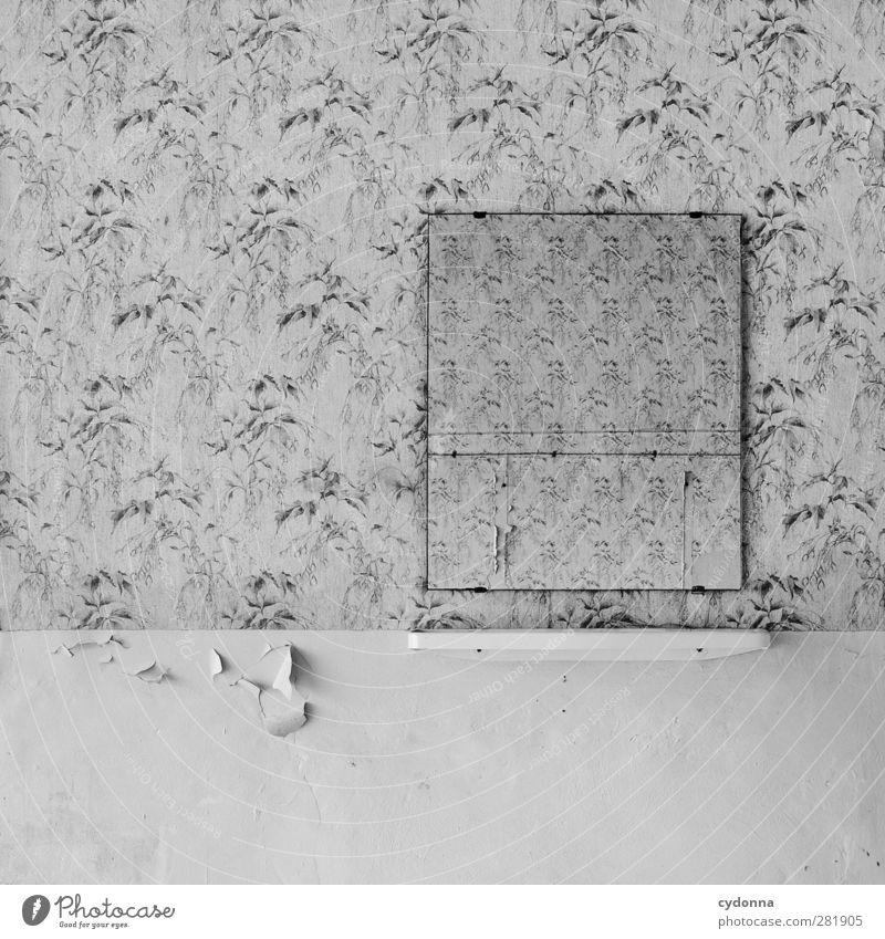 Du fehlst. schön Einsamkeit ruhig Haus Tod Wand Mauer Traurigkeit Zeit Raum leer Häusliches Leben ästhetisch einzigartig Vergänglichkeit Trauer