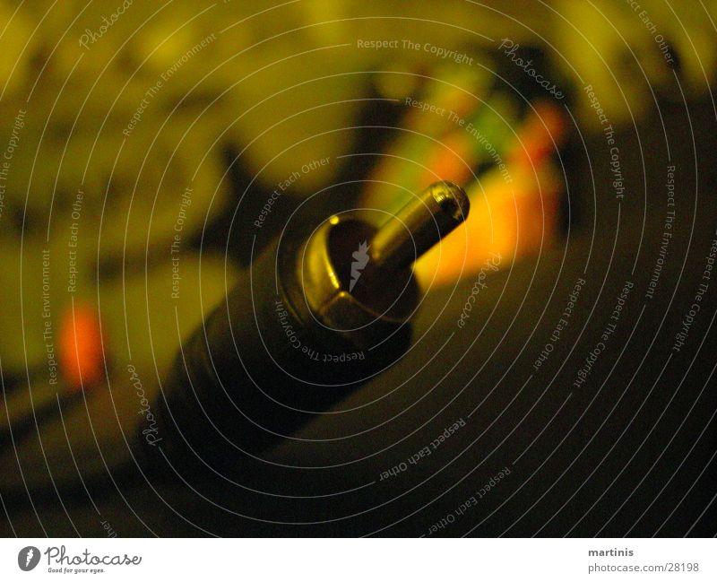 stegga Stecker Proberaum Makroaufnahme Entertainment Musik Ton cinch Detailaufnahme