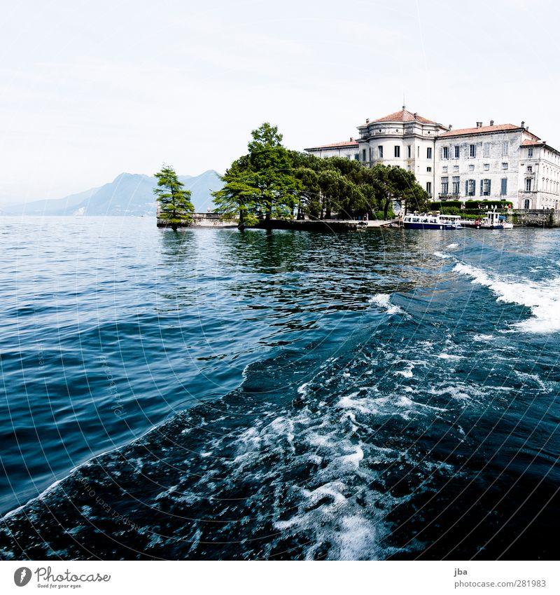 Borromäische Inseln 2 Natur alt Wasser Sommer Baum Erholung Architektur Küste See Luft Park Wellen Fassade Tourismus Ausflug