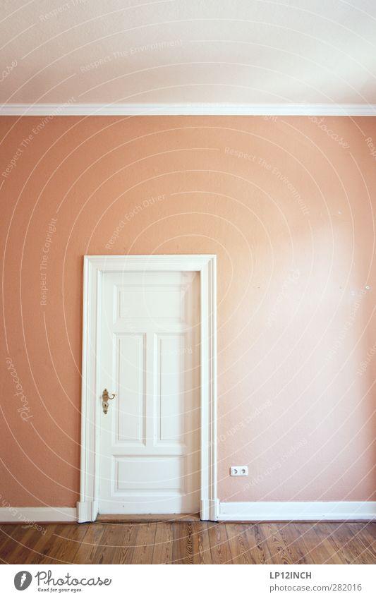 The (In) Doors XV Haus Mauer Wand Tür Holz Häusliches Leben alt retro Bodenbelag Altbau Altbauwohnung Renovieren Wohnzimmer Raum Zimmertür Decke Farbfoto