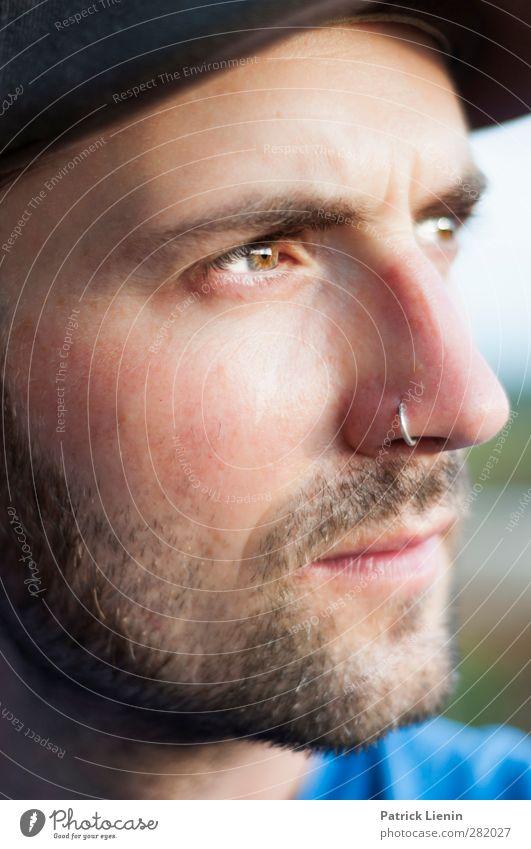 Subterranean Homesick Alien Lifestyle Stil Freude Haut Gesicht Zufriedenheit Erholung ruhig Mensch maskulin Junger Mann Jugendliche Kopf Nase 1 18-30 Jahre