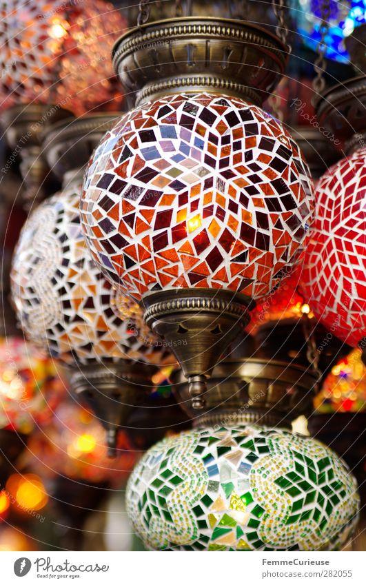 Mosaic lamps. Energiewirtschaft einzigartig rund Mosaik Lampe Souvenir Souvenirladen Messing erhellend erleuchten Elektrizität mehrfarbig Stein Muster