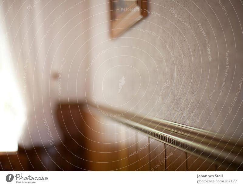 Wandschmuck alt Einsamkeit Haus braun Häusliches Leben Warmherzigkeit