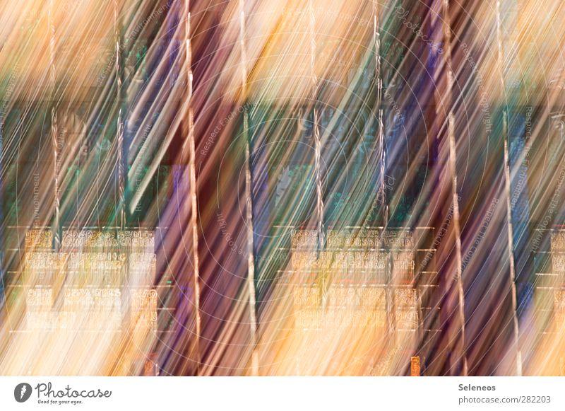 lightening Zeichen Schriftzeichen Ornament Linie Streifen hell nah Autofenster Glas Farbfoto Detailaufnahme Experiment abstrakt Muster Menschenleer Tag Licht