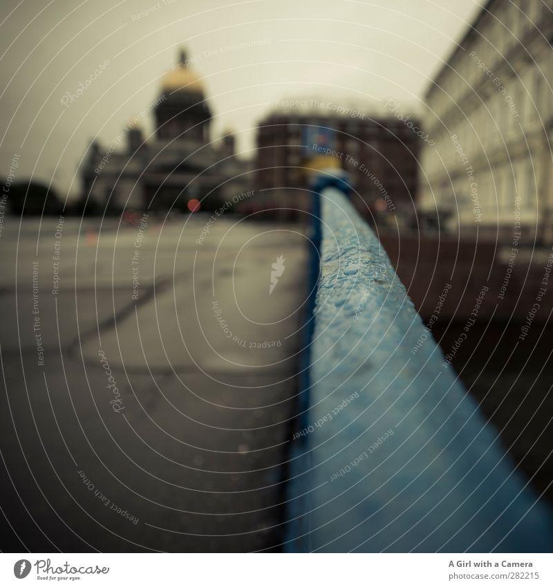 St Petersburg Wolken Wetter schlechtes Wetter St. Petersburg Russland Stadt Hafenstadt Stadtzentrum bevölkert Haus Dom Palast Bauwerk Architektur