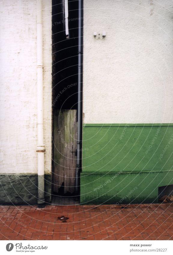 Ante Porta alt Haus Architektur Tür Tor Spalte