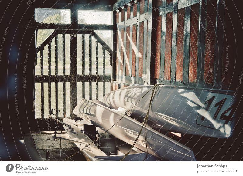 Bootshaus Lifestyle Freizeit & Hobby Abenteuer Freiheit Sommer Zufriedenheit Wasserfahrzeug Kanu Paddeln Kajak Idylle 114 Ziffern & Zahlen Scheune Lager