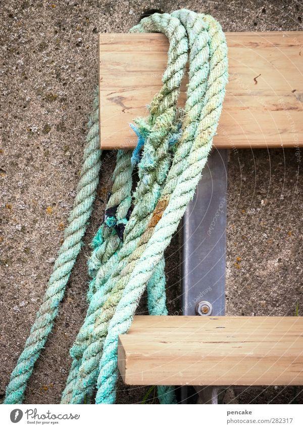 sitzgelegenheit | ankerplätzchen Erholung ruhig Angeln Meer Seil Fjord Fischerdorf Tapferkeit Sitzgelegenheit Bank Hafen Mittagspause Pause Fischereiwirtschaft