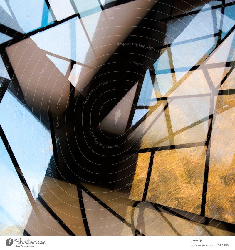 y schön Fenster Stil Hintergrundbild Lifestyle Kunst außergewöhnlich Linie Design elegant modern Glas ästhetisch verrückt einzigartig Streifen