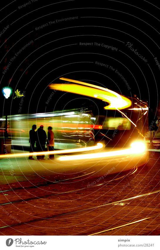 StrasbourgTram Straße Brücke Gleise Straßenbahn Elsass Straßburg