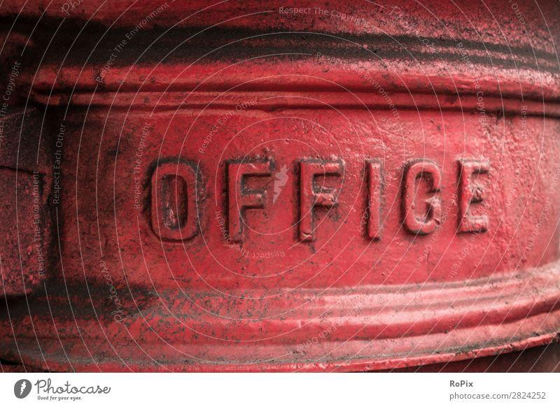 Britischer Briefkasten Sightseeing Städtereise Bildung Arbeit & Erwerbstätigkeit Beruf Arbeitsplatz Büro Wirtschaft Industrie Medienbranche Werbebranche Post