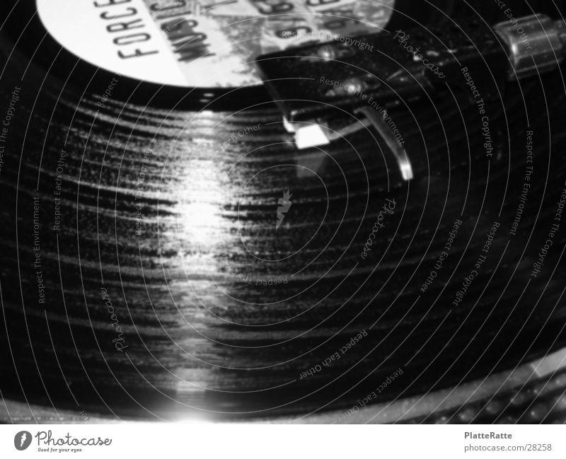 Scratchy Musik Diskjockey Schallplatte Plattenspieler