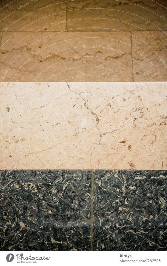 Hausflur - Triumvirat Bodenbelag ästhetisch authentisch Nostalgie Stil Symmetrie Häusliches Leben Teilung Goldener Schnitt 3 Kontrast Fliesen u. Kacheln