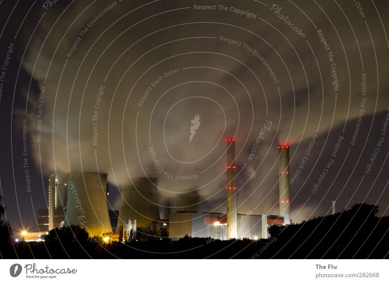 Up in smoke... Energiewirtschaft Technik & Technologie Fortschritt Zukunft Erneuerbare Energie Sonnenenergie Kernkraftwerk Kohlekraftwerk Energiekrise Industrie