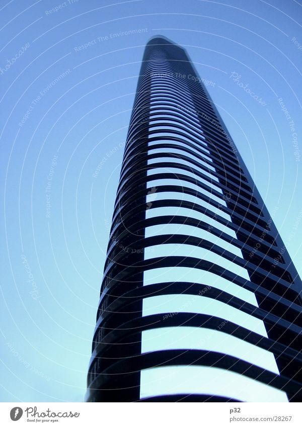 Vision.E² Himmel Hochhaus Perspektive Häusliches Leben simpel CD-Regal