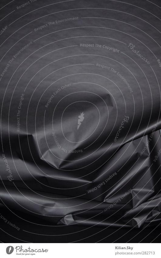 schwarz Traurigkeit Mode Kunst träumen glänzend groß elegant ästhetisch Papier einzigartig Stress skurril chaotisch Skulptur Zerstörung