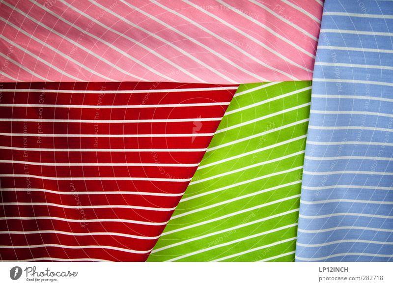 GEstreift & GEfalt@ Stil Design Mode Bekleidung Stoff trendy verrückt feminin mehrfarbig Farbe kaufen Stofffalten gestreift Linie Stofffaser Kreativität