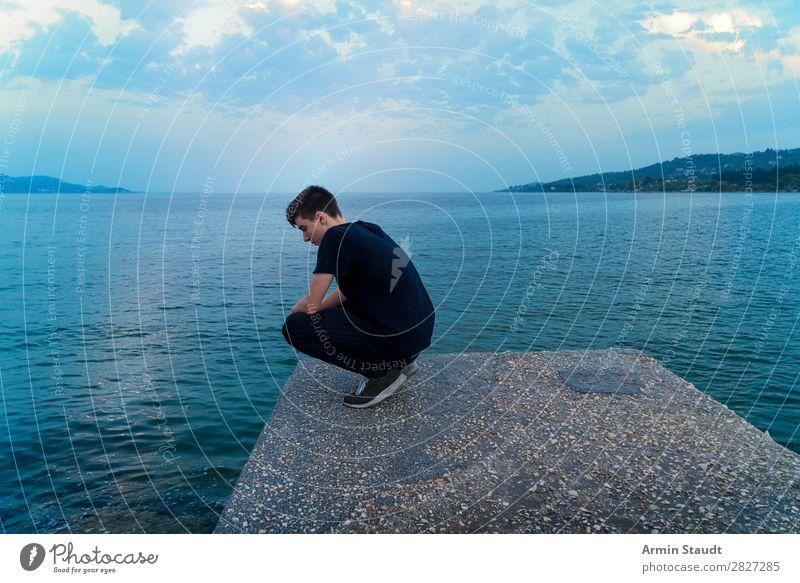 Melancholie Lifestyle Stil Gesundheit harmonisch Wohlgefühl Zufriedenheit Sinnesorgane Erholung ruhig Meditation Ferien & Urlaub & Reisen Tourismus Ferne