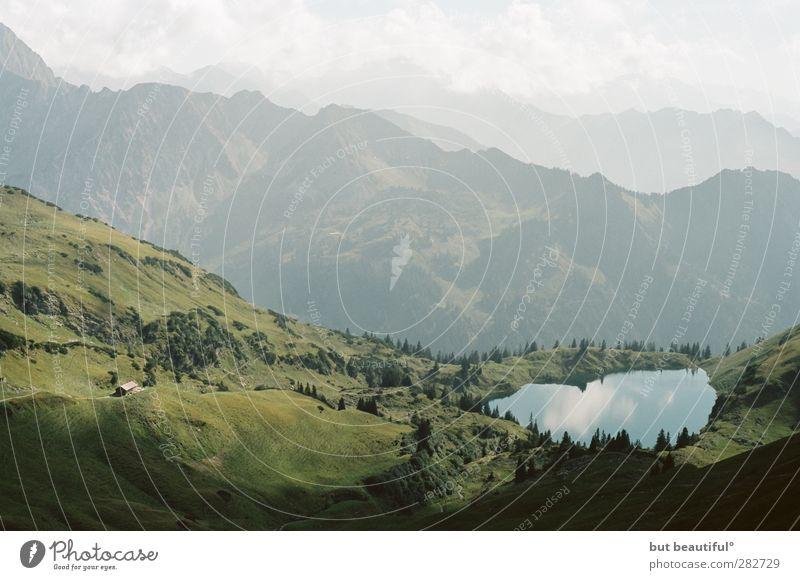alpenidyll° Natur Sommer Wasser Landschaft Berge u. Gebirge Umwelt See Zufriedenheit Glaube