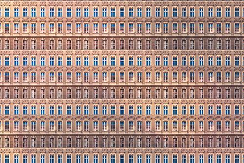 Noch mehr Wohnungen Lifestyle Stil Design Häusliches Leben Haus Business Stadt Stadtzentrum Mauer Wand Fassade Balkon träumen außergewöhnlich Unendlichkeit