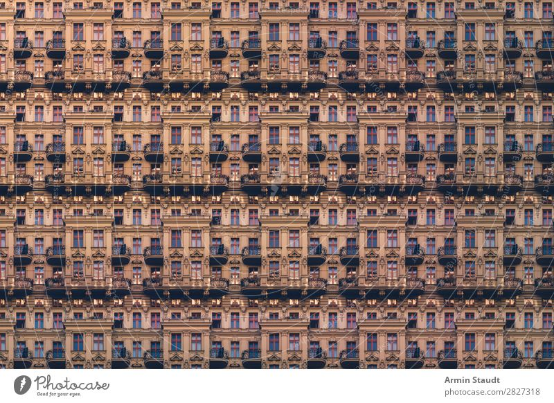 Noch mehr Wohnungen Lifestyle Stil Design Häusliches Leben Haus Business Stadt Stadtzentrum Mauer Wand Fassade träumen außergewöhnlich Unendlichkeit Stimmung