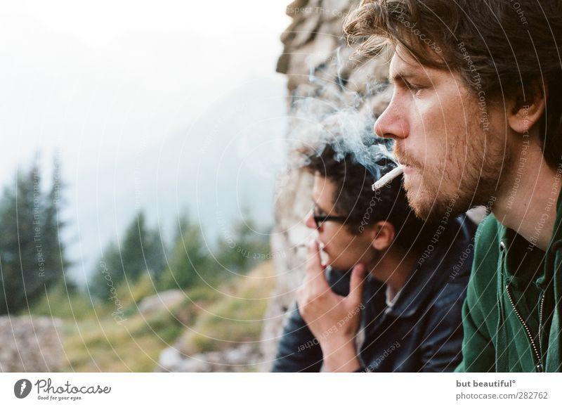 frische luft° Mensch maskulin Junger Mann Jugendliche Kopf 2 18-30 Jahre Erwachsene genießen Farbfoto Außenaufnahme Starke Tiefenschärfe Porträt
