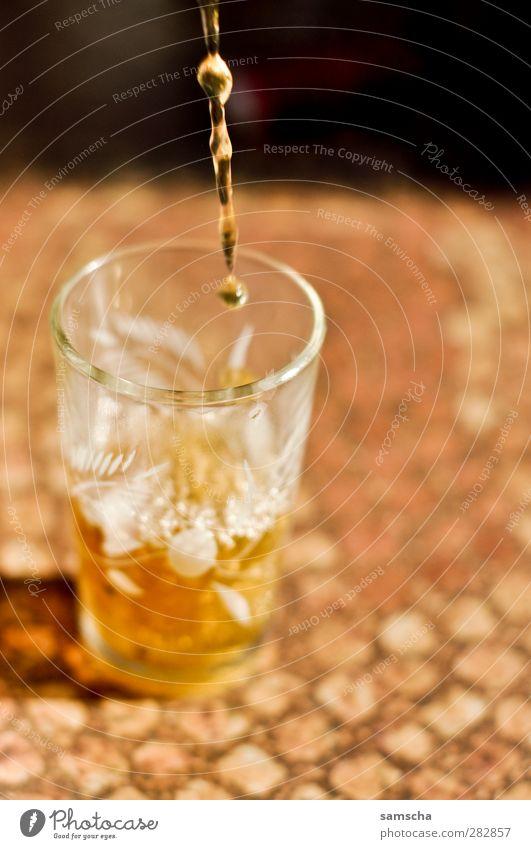 Teatime Gesundheit Glas Glas Getränk süß trinken heiß Tee Flüssigkeit lecker Arabien Naher und Mittlerer Osten aromatisch füllen Marokko eingießen
