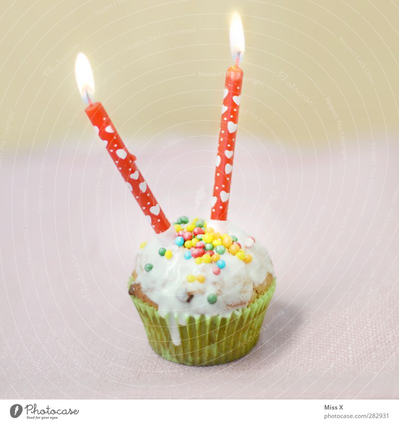 Alles Gute Fips Lebensmittel Teigwaren Backwaren Kuchen Dessert Süßwaren Ernährung Kaffeetrinken Feste & Feiern Valentinstag Muttertag Geburtstag leuchten klein