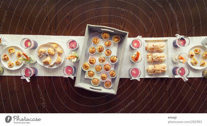 sweet and salty Ernährung süß lecker Geschirr Picknick Speisetafel Festessen Backwaren Teigwaren Dessert Büffet Brunch Fingerfood salzig Slowfood
