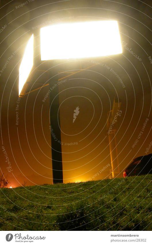 hafen bei nacht Nacht Langzeitbelichtung Licht Industrie Hafen Bildschirm Perspektive Anzeige