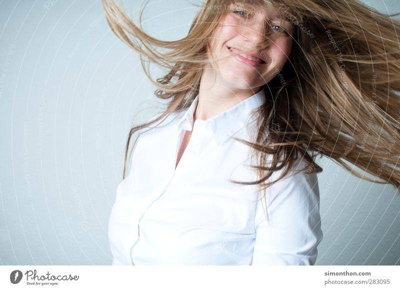 freude Mensch Jugendliche schön Freude Erwachsene feminin Gefühle Bewegung Glück Business Gesundheit 18-30 Jahre Stimmung blond Kraft Freizeit & Hobby