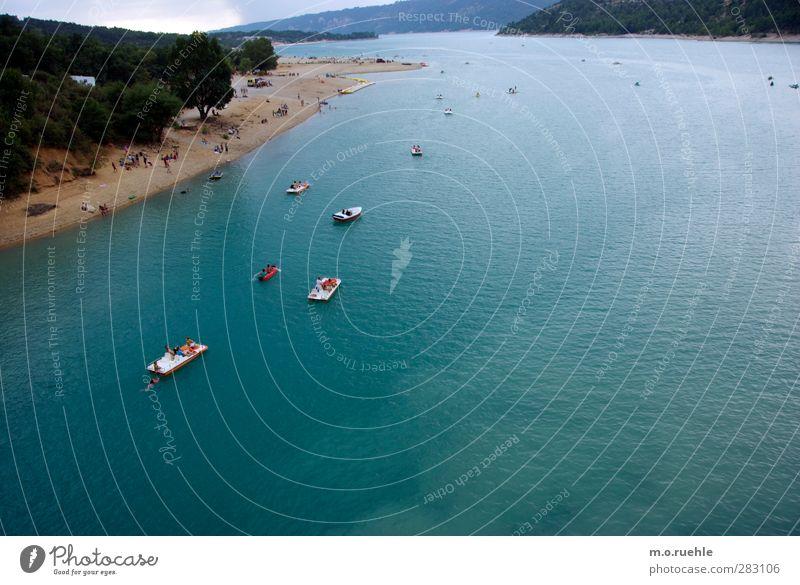 Boatpeople Mensch Natur Ferien & Urlaub & Reisen Sommer Sonne Landschaft Umwelt Leben See Schwimmen & Baden Wasserfahrzeug Freizeit & Hobby Tourismus Ausflug