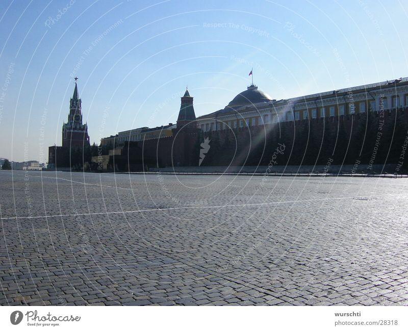 Roter Platz Architektur Russland Osten Moskau
