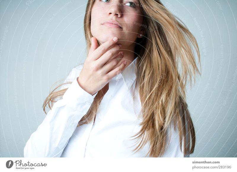 Model Mensch Jugendliche schön 18-30 Jahre Gesicht Erwachsene feminin Stil Lifestyle Haare & Frisuren Business elegant blond Erfolg Haut