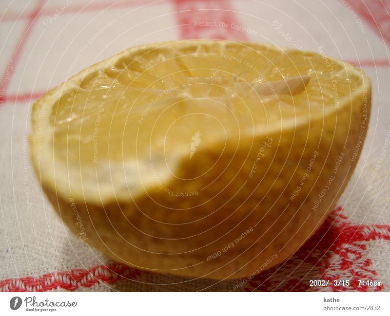 tischzitrone Ernährung Frucht Tisch Wut Kerne Zitrone