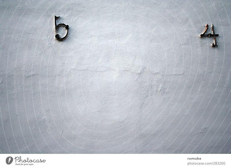 dk | 5 4 Tourismus Mauer Wand Fassade Zeichen Ziffern & Zahlen Beton Betonwand Betonmauer 54 Farbfoto Gedeckte Farben Außenaufnahme Strukturen & Formen