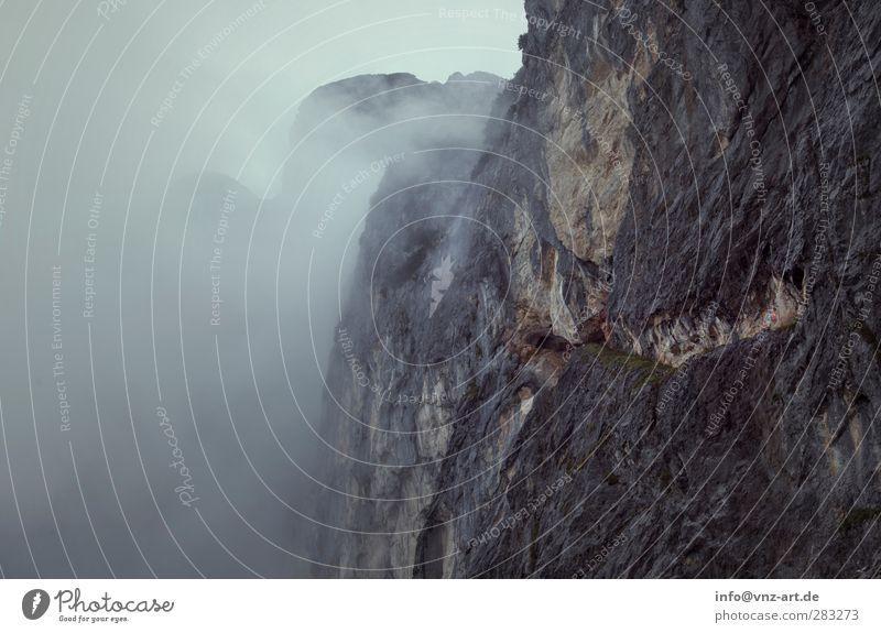 Untersberg Ferien & Urlaub & Reisen Ausflug Abenteuer Freiheit Umwelt Natur Wolken Herbst Wetter schlechtes Wetter Nebel Regen Felsen Alpen Berge u. Gebirge