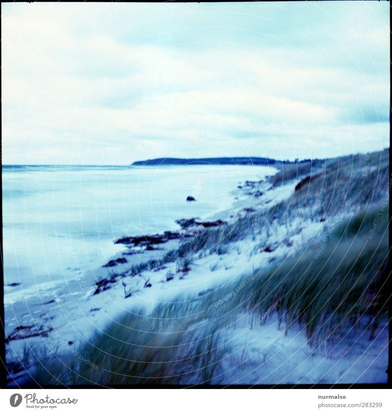 vHfH Freizeit & Hobby Ferien & Urlaub & Reisen Tourismus Ferne Strand Meer Wellen Kunst Natur Landschaft Urelemente Wasser Herbst Wind Sturm Küste Ostsee Insel