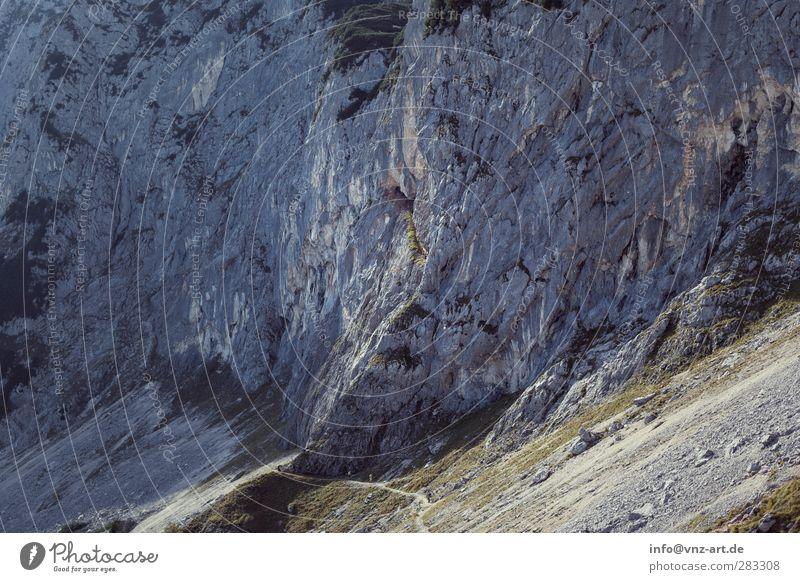 Untersberg2 Ferien & Urlaub & Reisen Ausflug Abenteuer Umwelt Natur Landschaft Erde Herbst Felsen Alpen Berge u. Gebirge untersberg Angst Farbfoto Außenaufnahme